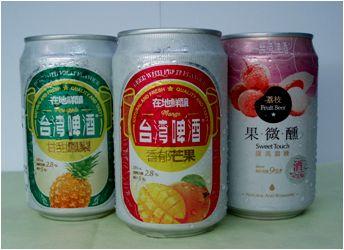1、フルーツビール1箱(1種類・24本入り)6,500円