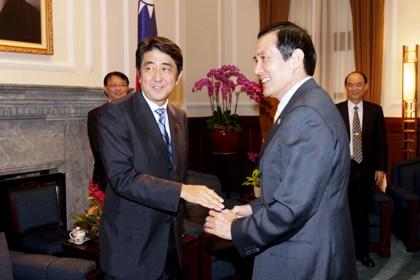 馬英九総統が安倍首相へ感謝の親書